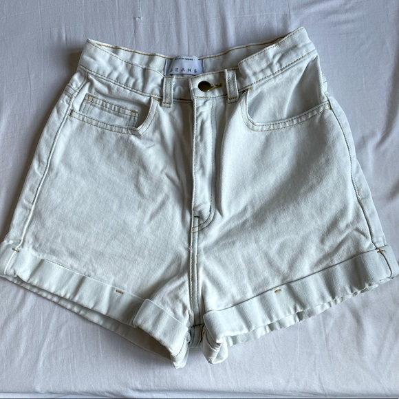 Vintage American Apparel Jean Shorts